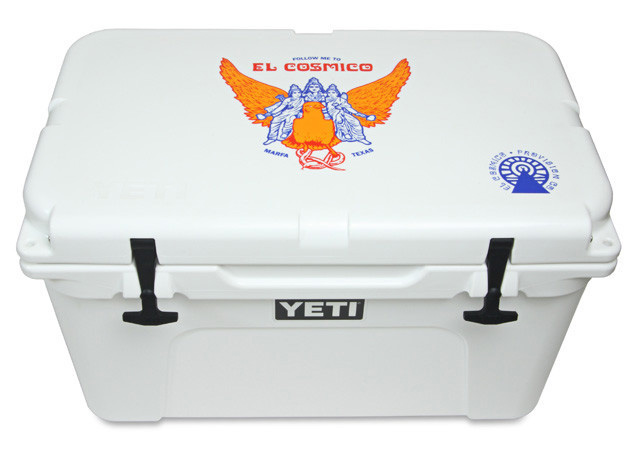 Grizzly Proof Coolers With Graphics For Post Molding