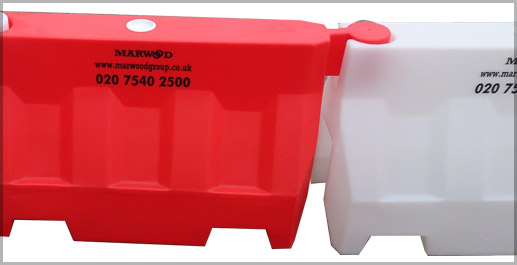 Mold In Graphics for labeling rotomolded plastics - Marwood Barriers