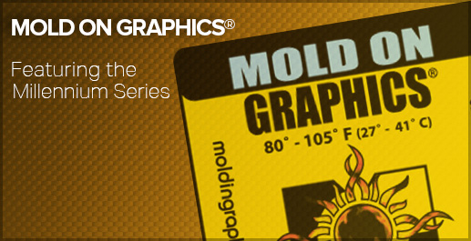 Products for Labeling & Improving Rotomolded Plastic - Mold On Graphics