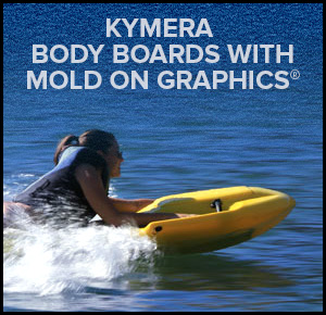 Kymera Body Boards With Mold On Graphics