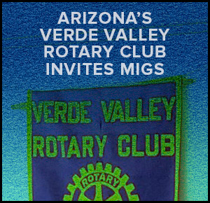 Arizona's Verde Valley Rotary Club Invites MIGS