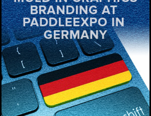 Mold In Graphics Branding At PADDLEexpo In Germany