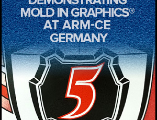 Demonstrating Mold In Graphics At ARM-CE Germany