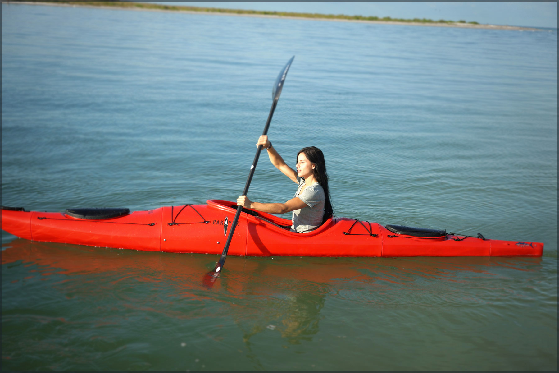 Convertible Kayak Travels Anywhere On Your Back