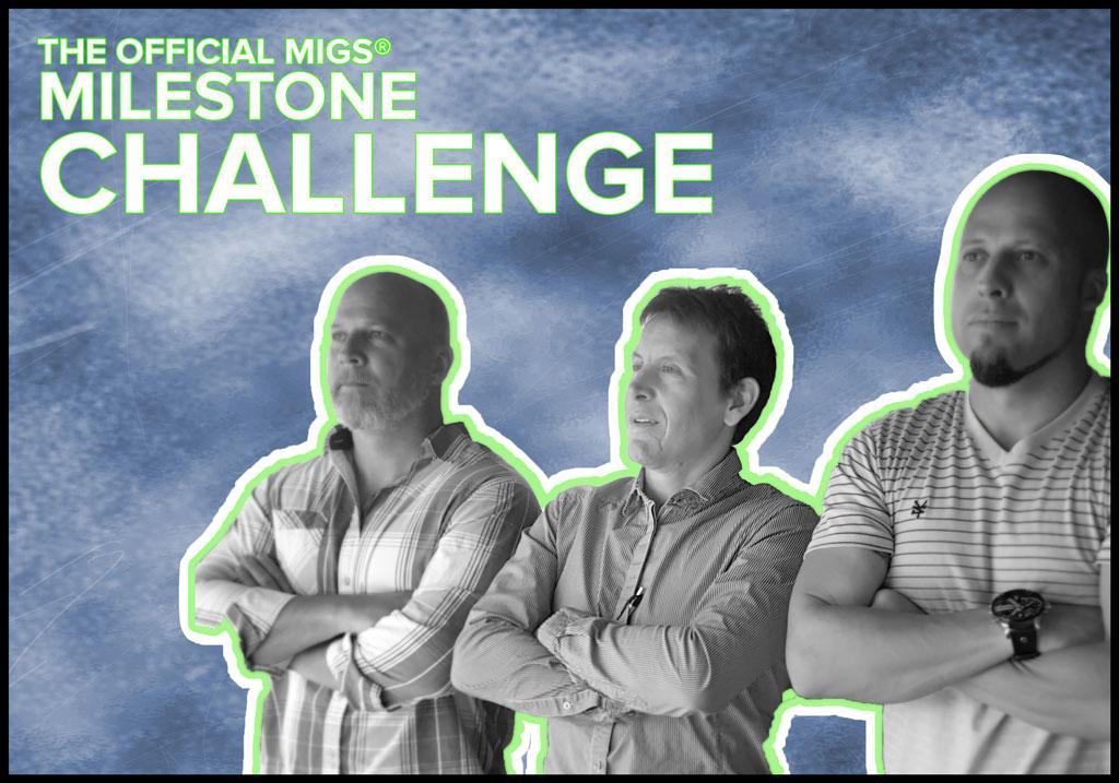 CEO Shaves head to celebrate company milestone challenge.