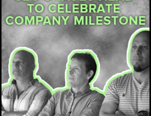 CEO Shaves Head To Celebrate Company Milestone