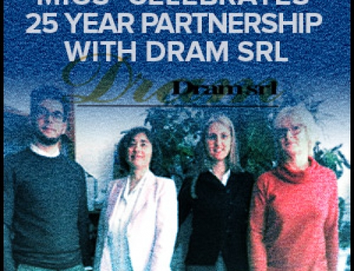 MIGS Celebrates 25 Year Partnership With DRAM srl