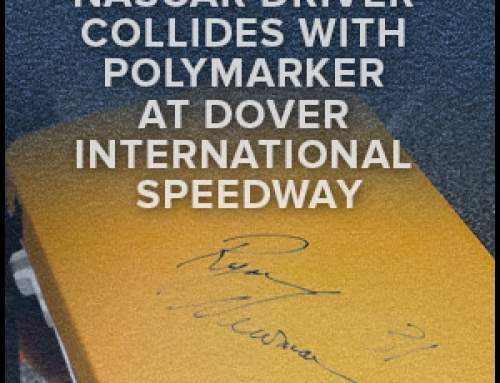 NASCAR Driver Collides With Polymarker At Dover International Speedway