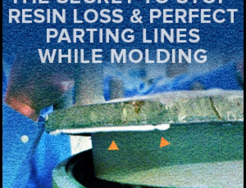 The Secret To Stop Resin Loss & Perfect Parting Lines While Molding