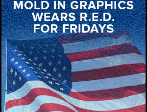 Mold In Graphics Wears R.E.D. For Fridays