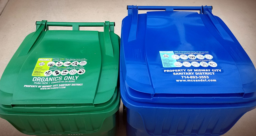Polyfuze Labels Improve Message For Waste Management Containers