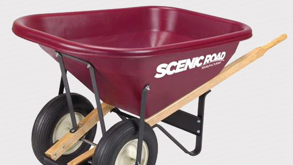Labeling Plastic Wheelbarrow