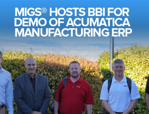 MIGS® Hosts BBI For Demo Of Acumatica Manufacturing ERP